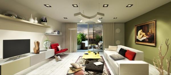 Jaké osvětlení do obývacího pokoje